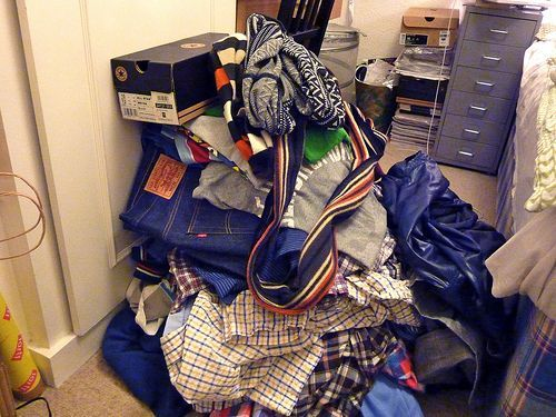 How to unpack after moving. Yikes!