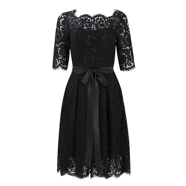 Audrina Lace Dress (120 ILS) ❤ liked on Polyvore featuring dresses, lace cocktail dress, lacy dress and lace dress