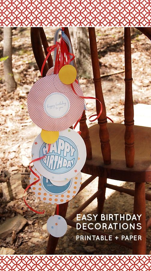 16 Fun Birthday Wish Tags {free printables}
