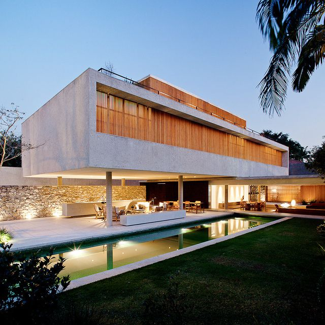 Chimney Haus innovative Architektur Brasilien