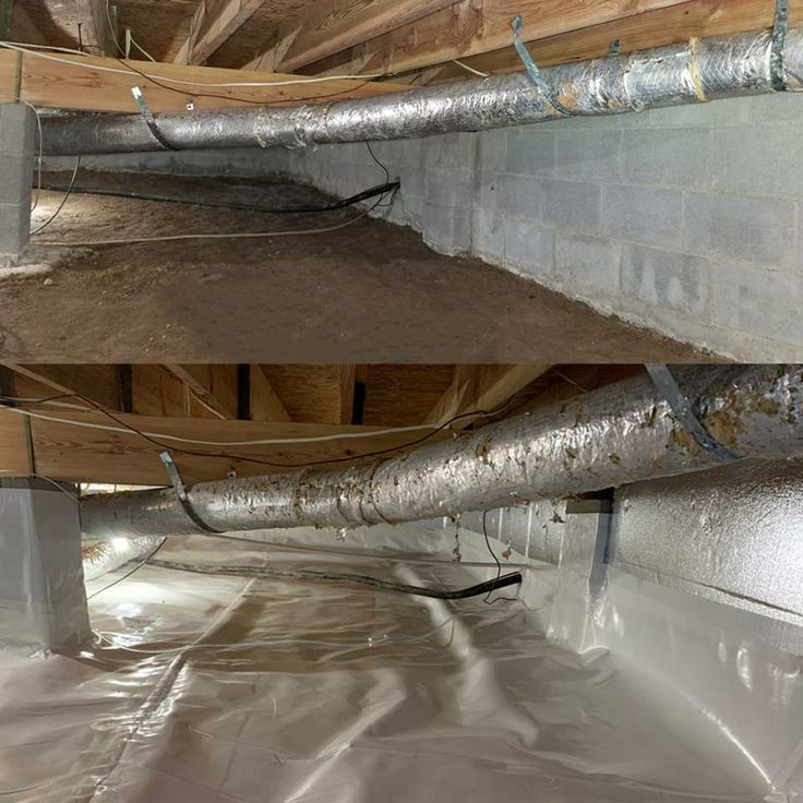 Pin by Innovative Basement Authority on Crawl Space