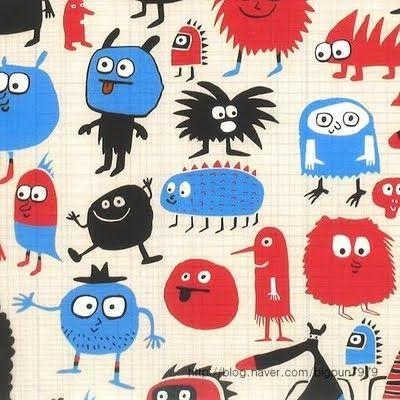 독특한캐릭터 패턴 : 네이버 블로그
