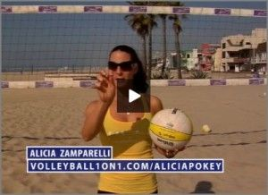 Volleyball, Volleyball Drills, 1000+ Instructional Volleyball Video and Full Volleyball. Volleyball1on1 offers drills, 1000+ instructional videos, resources and a full volleyball store for both indoor and beach volleyball. The part of http://volleyball1on1.com/alicia-zamparelli-the-pokey-in-beach-volleyball/