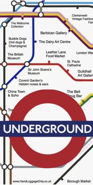Mind the Gap. London.-