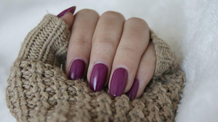 Agnieszka BEAUTY blog: Semilac 012 Pink Cherry. Pierwszy manicure hybrydowy.