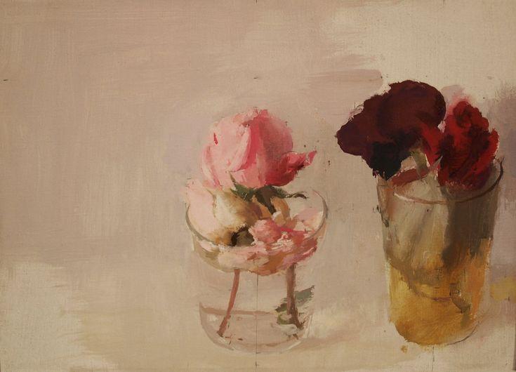 Antonio López García oil on canvas
