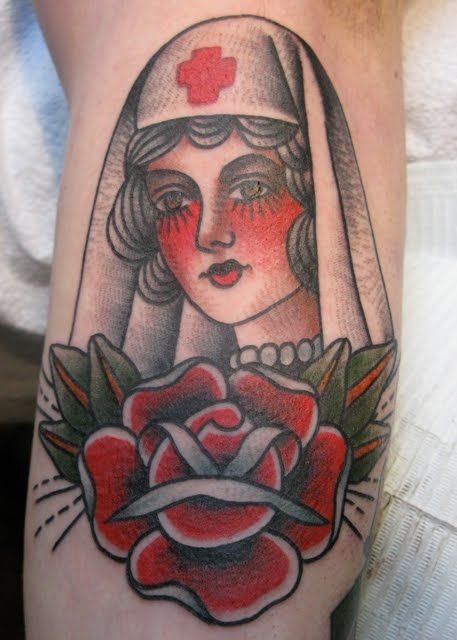 17 best images about nurse tattoos on pinterest flash for American classic tattoos