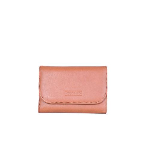 Rawan Wallet in Brandy