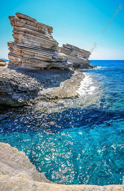 Triopetra, Τριόπετρα | Rethymno, Crete, Greece We have authentic #Greek #cookies and #oliveoil available at TasteofCrete.com !