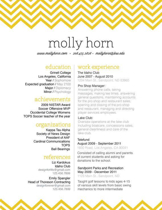 personal branding package    resume letterhead by