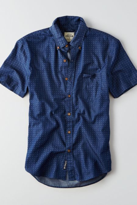 American Eagle Outfitters AEO Print Short Sleeve Shirt