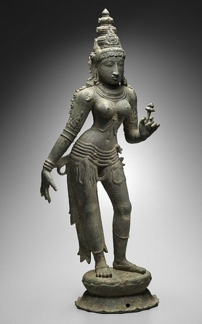 10th century chola bronze at boston mfa by scleroplex, via Flickr