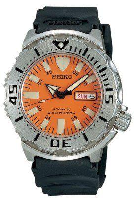 "Seiko Men's SKX781 ""Orange Monster"" Automatic Dive Watch - http://www.specialdaysgift.com/seiko-mens-skx781-orange-monster-automatic-dive-watch-2/"