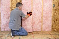 How to Install Insulation in Open Walls: Installing Batt Insulation in Walls