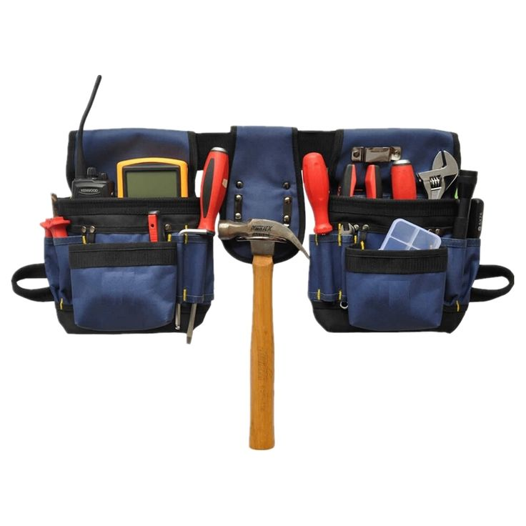 Garden install waist packs oxford Tool two bag Aerial Work lift strong Construction Repairman Electrician Customizable suitcase