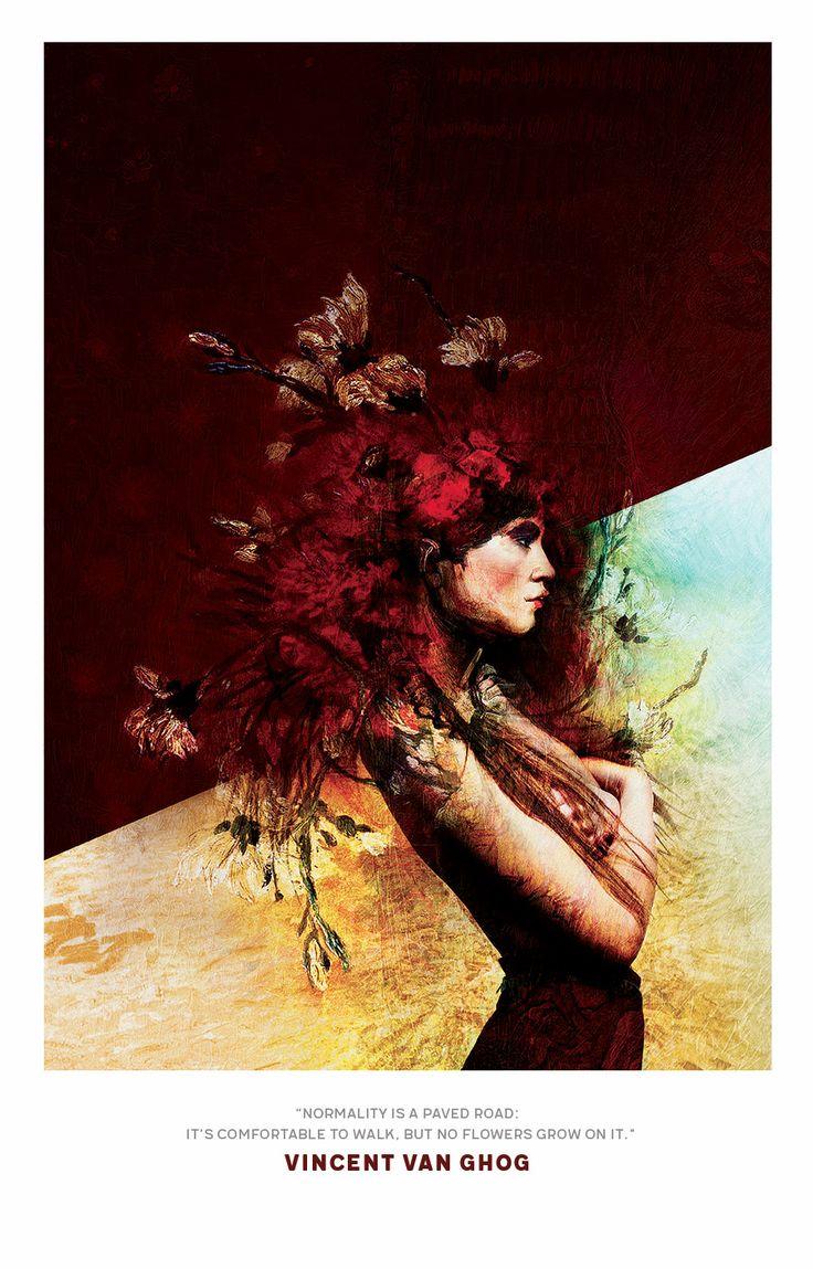 Famous textures / Progetto personale http://www.robertacavalleri.com/digital-art/famous-textures/