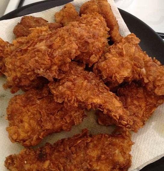 Recept: Maak je eigen KFC gefrituurde kip