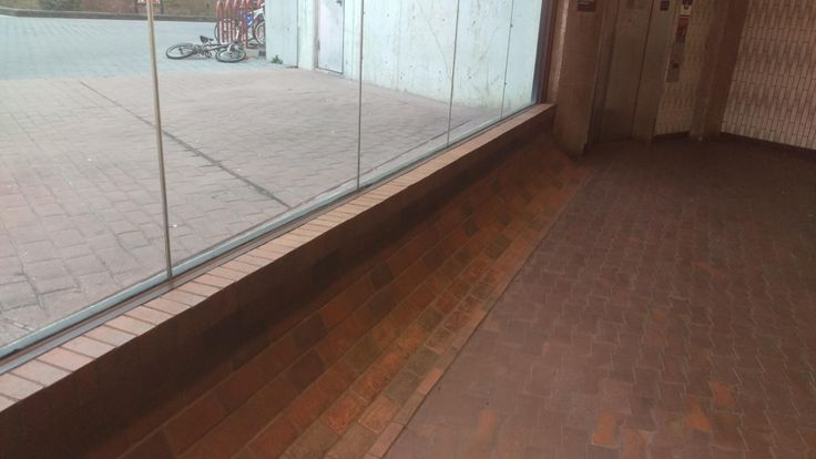 This brick work looks like something out of a Tony Hawk's Pro Skater.