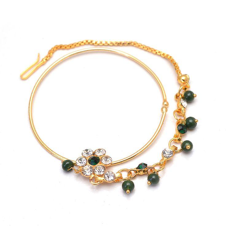 Daily Deal Designer Traditional Rajputi Ring and Rajputi Nath Nose Ring Jewelry #Handmade #DropDangle