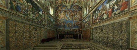 Visita Virtual à Capela Sistina | O Meu Passaporte - Viagens Baratas, Voos Baratos, Hoteis Baratos, Turismo, Lowcost