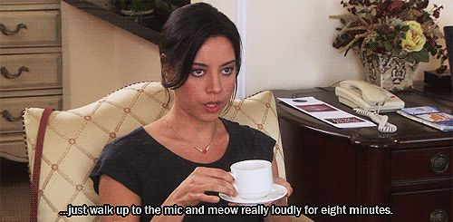 "Your advice is better than anyone else's. | Community Post: 20 Signs You Might Actually Be April Ludgate From ""Parks And Rec"""