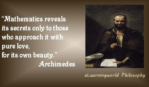 just food for thought and you know what Hippocrates says about food  #Archimedes #Quotes