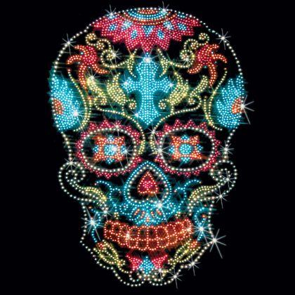 blue sugar skull - Google Search