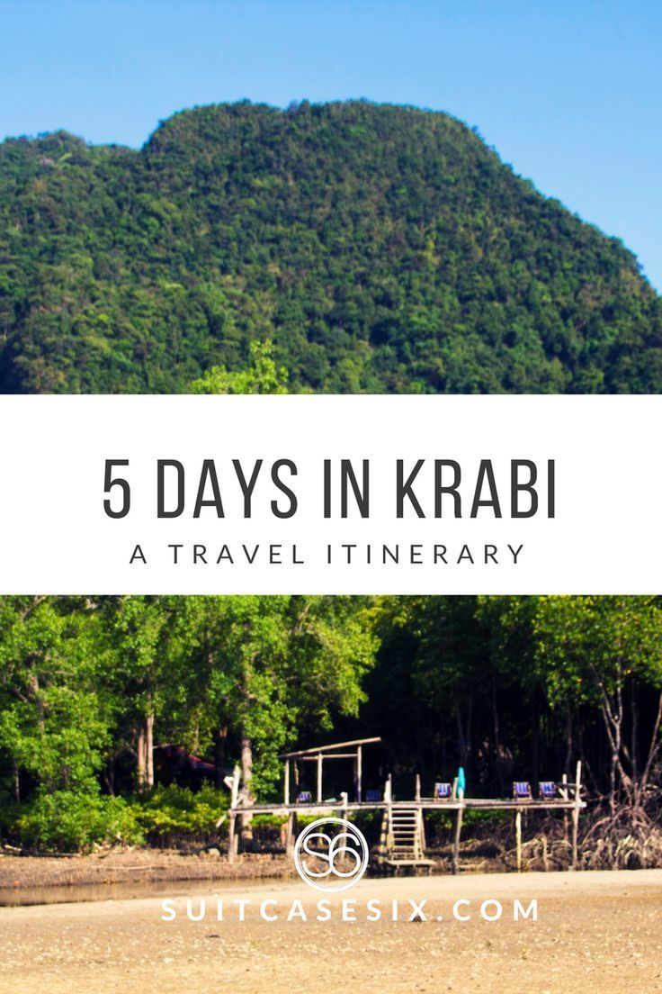 Why you have to visit this amazing piece of the world - Krabi, Thailand. | SuitcaseSix.com
