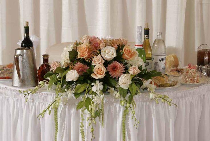 aranjamente floral nunta masa prezidiu 4