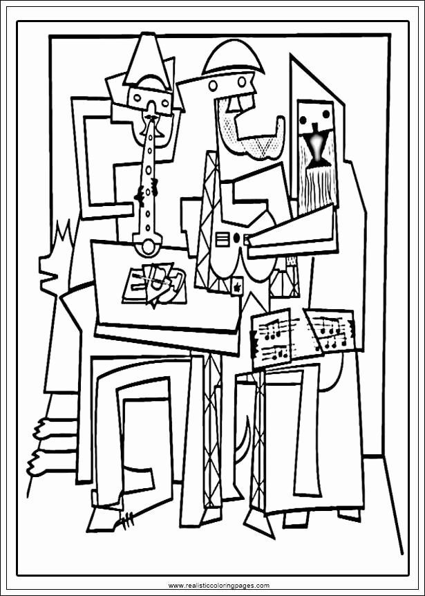 Picasso Coloring Pages Printable Best Of Arts Picasso Printable Coloring Pages In 2020 Picasso Coloring Picasso Art Pablo Picasso Artwork