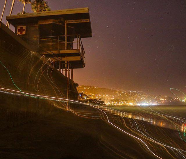Energy never lies ⚡️📸🚀 #longexposure #nightphotography #lajolla #lajollalocals #sandiegoconnection #sdlocals - posted by Julio Gamboa  https://www.instagram.com/jgamb0a. See more post on La Jolla at http://LaJollaLocals.com