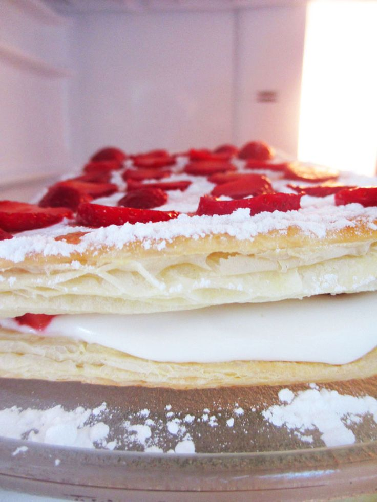 1000 images about postres con hojaldre on pinterest - Postres con queso de untar ...
