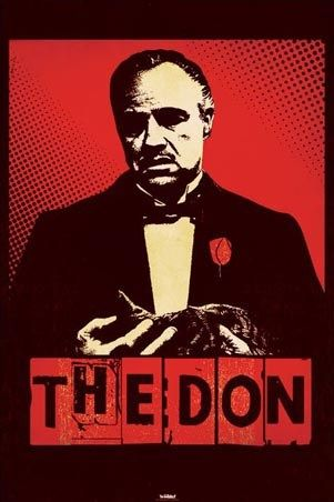 The Don - The Godfather. I have this canvas artwork