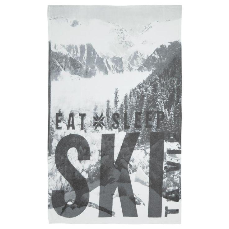 Ski Fleece Throw
