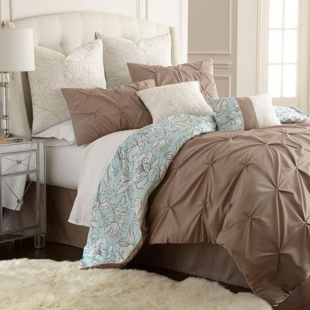 101 Best Images About Blue And Brown Bedroom On Pinterest Master Bedrooms Joss And Main And