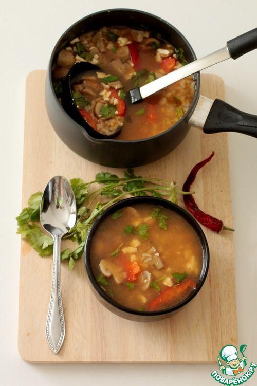 """Суп """"Японика"""" - кулинарный рецепт"""
