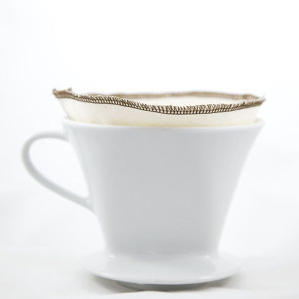 These Cotton Coffee Filters are an environmentally friendly solution to traditional, disposable filters. They can be used for approximately a year, and ensure that your coffee remains smooth, and rich in aromatic oils. Simply rinse thoroughly, and hang dry for cleaning.