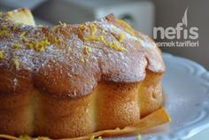 Limonlu Kek -- Sırrı, seker ve yumurtanin beyazini once cirpmakta ;)
