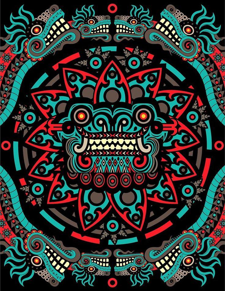 Quetzalcoatl por Adrian Acosta Meza adriarte
