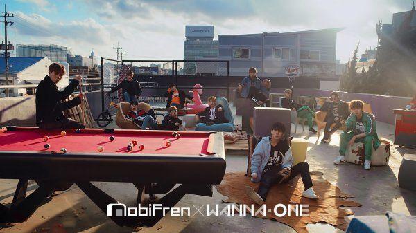 """Wanna One x Mobifren """