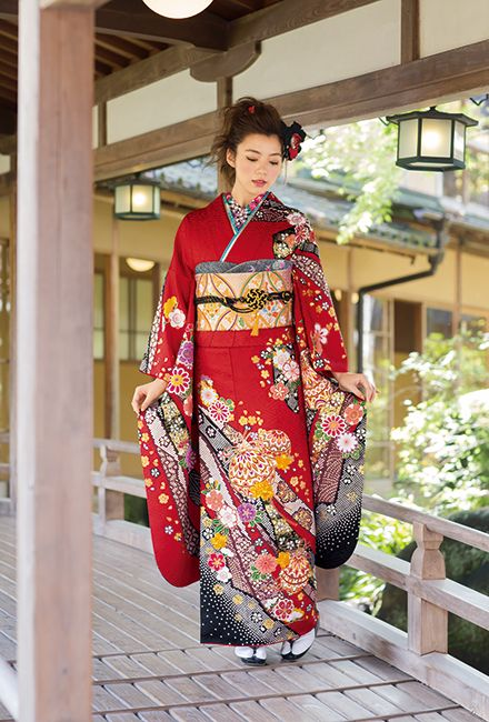 NO.1630 正絹 京友禅|成人式の振袖販売、振袖レンタルの京都きもの友禅