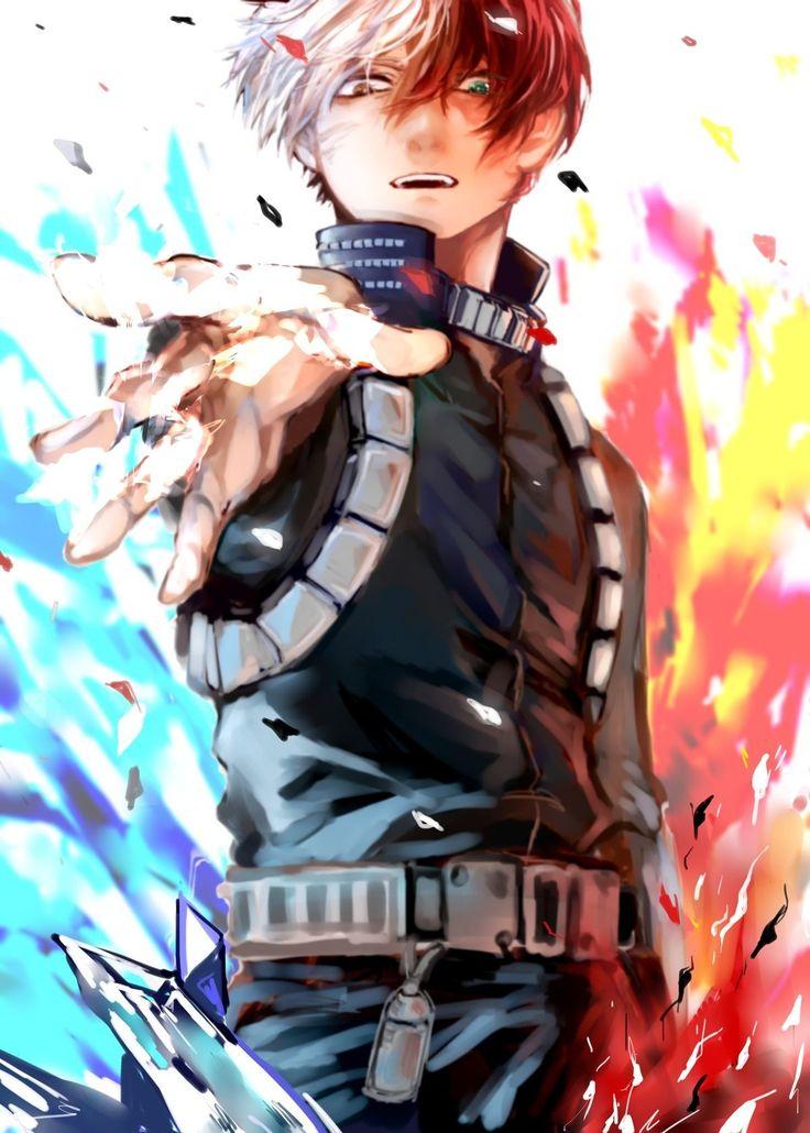 Todoroki Shouto Shouto, Anime masculino, Anime