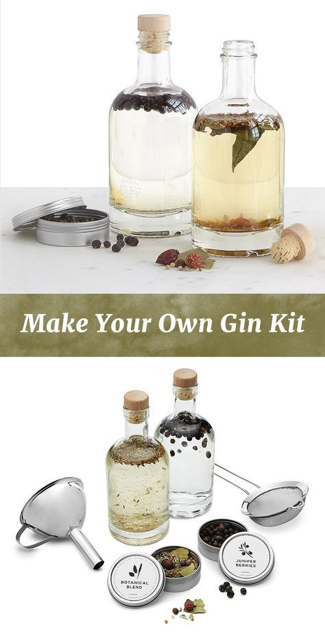 This DIY gin kit lets you brew your own batch without a flurry of distilling equipment. Simply start with a bottle of your favorite vodka, let your ingredients steep for 36 hours and enjoy your very own happy hour-ready mix.