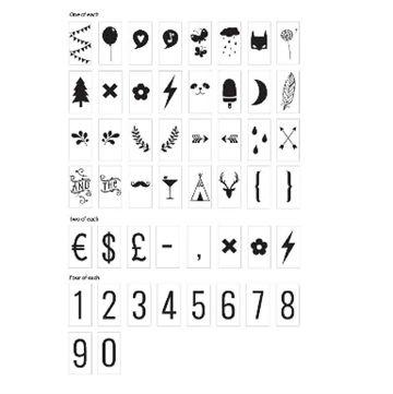 Alittlelovelycompany light box symboler  ekstra