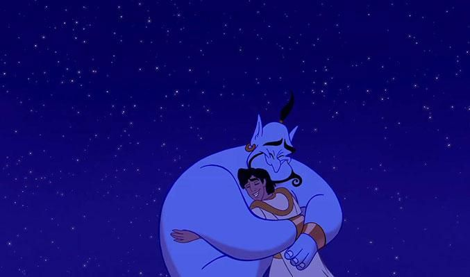 Genie, you're free, may you finally be at peace Robin Williams.......via Twitter @theacademy