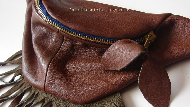 DIY Waist hip bag,belt bag,fanny pack (pattern) torebka nerka ,torebka na pasku DIY(wykrój)   Anielska Aniela-DIY,Tutorial,Sewing, Refashion, Trashion,Jewellery,Recycling -Blog o przeróbkach
