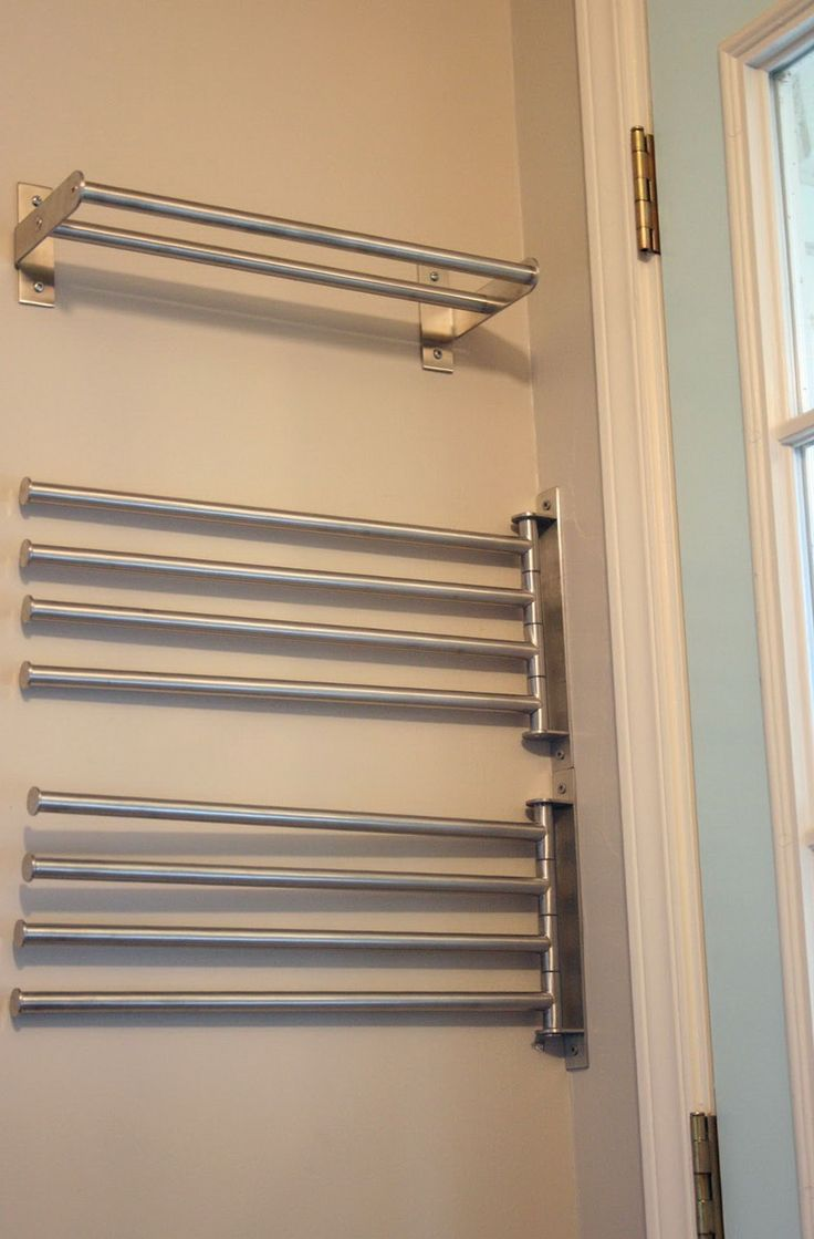 Laundry Room Hanging Drying Racks