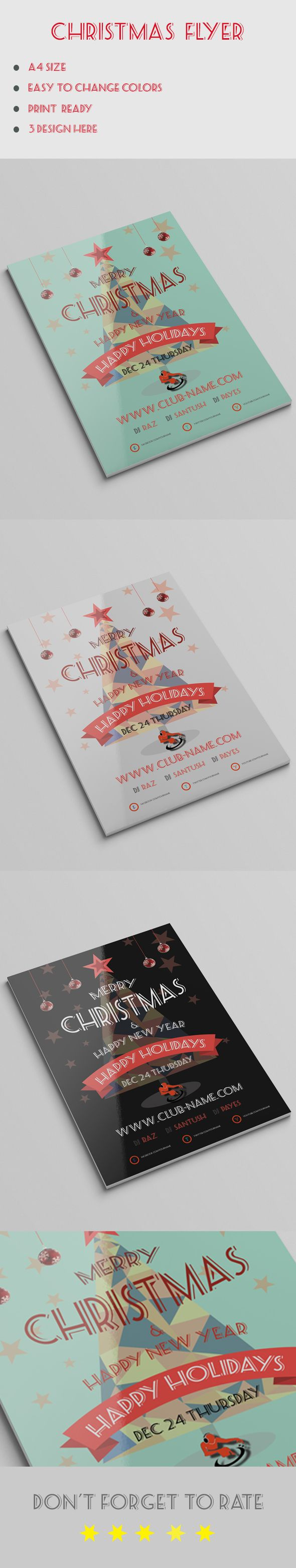 15+ Best Free Christmas Flyer Templates  http://www.byteswire.com/best-free-christmas-flyer-templates/
