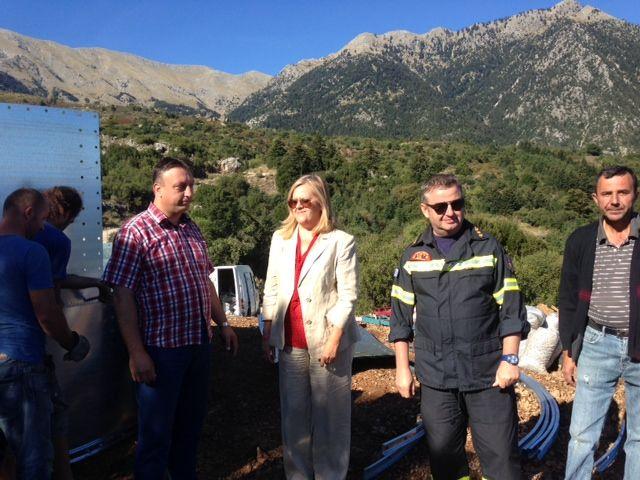 Δεξαμενές για πυροπροστασία σε Ταϋγέτη και Βασσαρά | Laconialive.gr – Η ενημερωτική ιστοσελίδα της Λακωνίας, Νέα και ειδήσεις