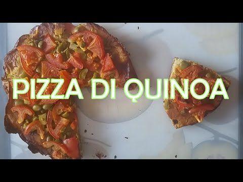Ricetta della Pizza con farina di Quinoa (Per tutti i gruppi: 0, A, B, AB senza farcitura) - YouTube